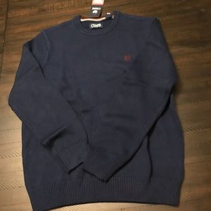 Chaps Cotton Crewneck Sweater